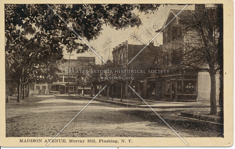 Madison Avenue (41 Ave), Murray Hill, Flushing, N.Y.