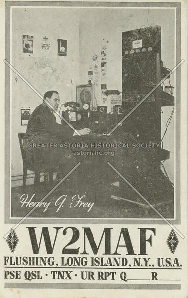 W2MAF, Flushing, Long Island, N.Y., U.S.A.