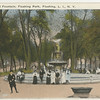Fountain, Flushing Park, Northern Blvd and Main St., Flushing, L.I., N.Y.