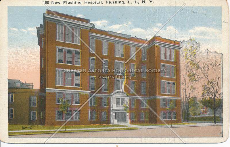 New Flushing Hospital, Flushing, L.I., N.Y.