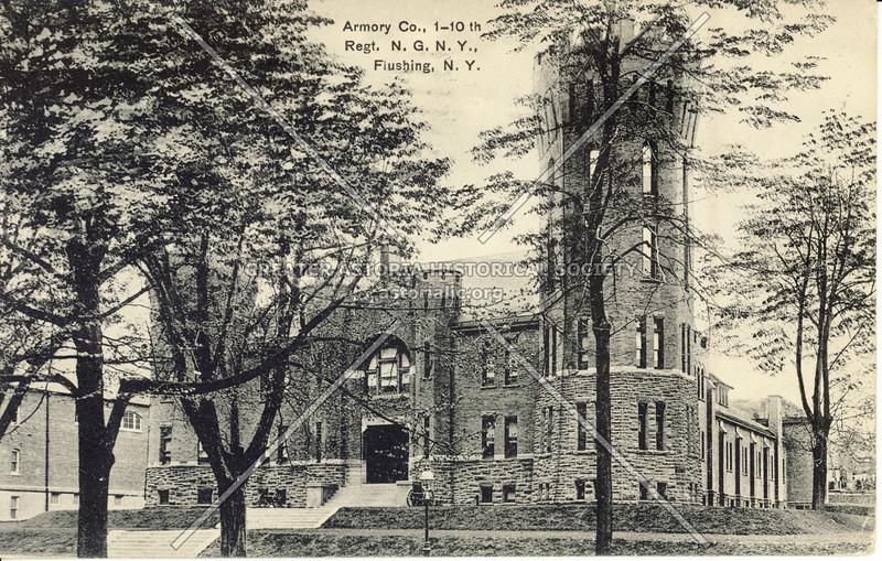 Armory, Northern Blvd., Flushing, L.I., N.Y