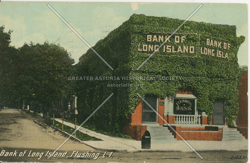 Bank of Long Island, Flushing, L.I.