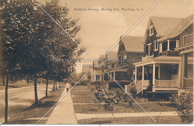 Madison Avenue (41 Ave), Murray Hill, Flushing, L.I.