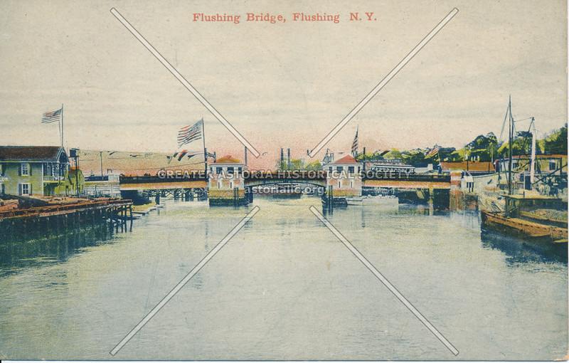 Flushing Bridge, Flushing N.Y.