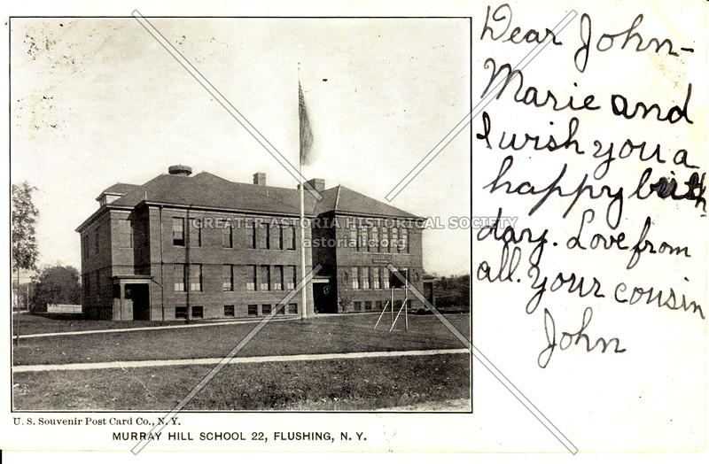 Murray Hill School PS 22, Flushing, L.I., N.Y.