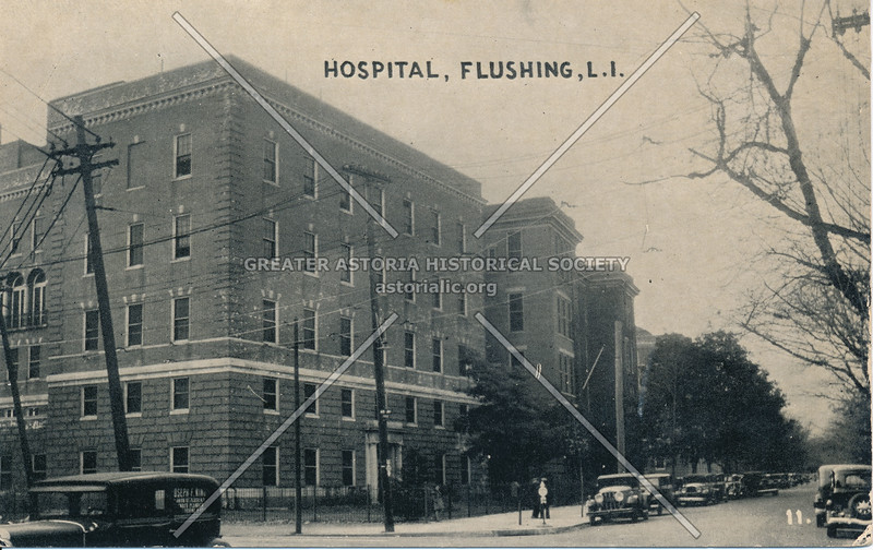 Flushing Hospital, Flushing, L.I.