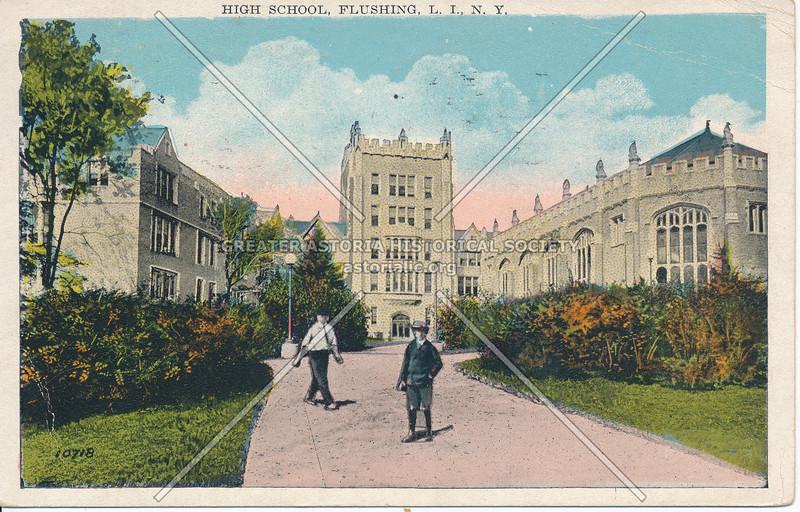 Flushing High School, Flushing, L.I., N.Y.