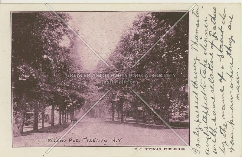 Bowne Ave (Bowne St)., Flushing, N.Y.