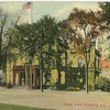 Town Hall, Northern Blvd and Linden Place, Flushing, L.I.