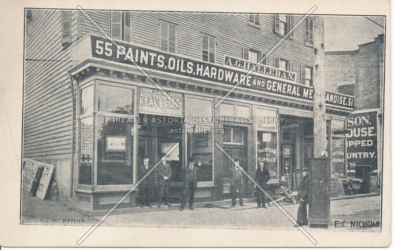 A. G. Halleran - 55 Paints, Oils, Hardware and General Merchandise