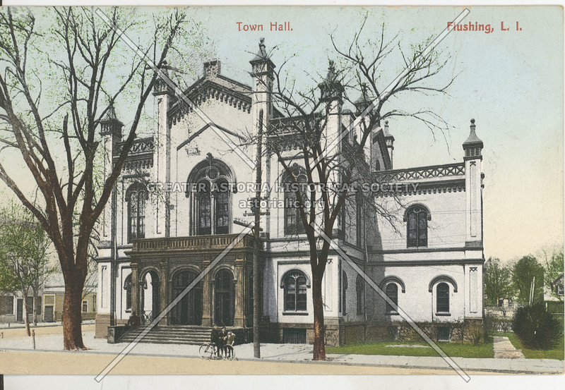 Town Hall, Northern Blvd and Linden Place, Flushing N.Y.