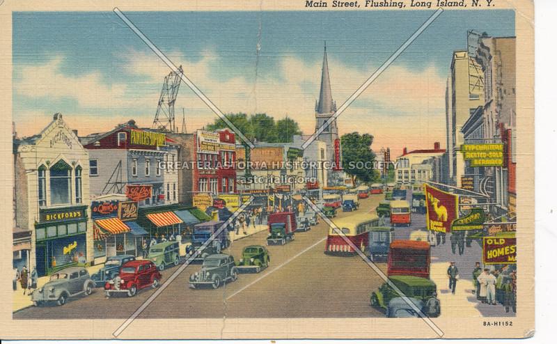 Main Street, Flushing, L.I., N.Y.
