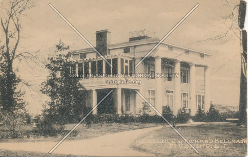 Residence of Richard Hellmann, Flushing, L.I.