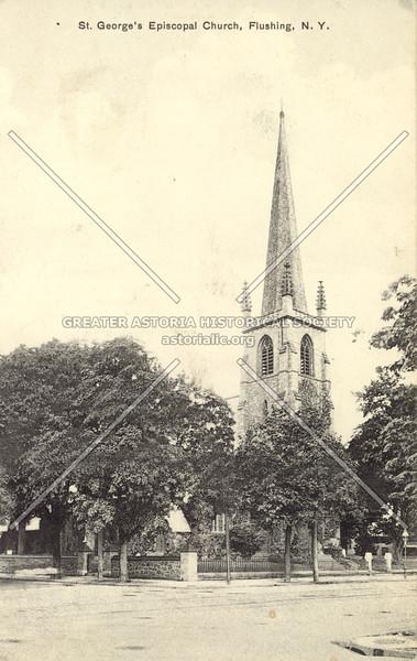 St. George's Episcopal Church, Main St., Flushing, N.Y.