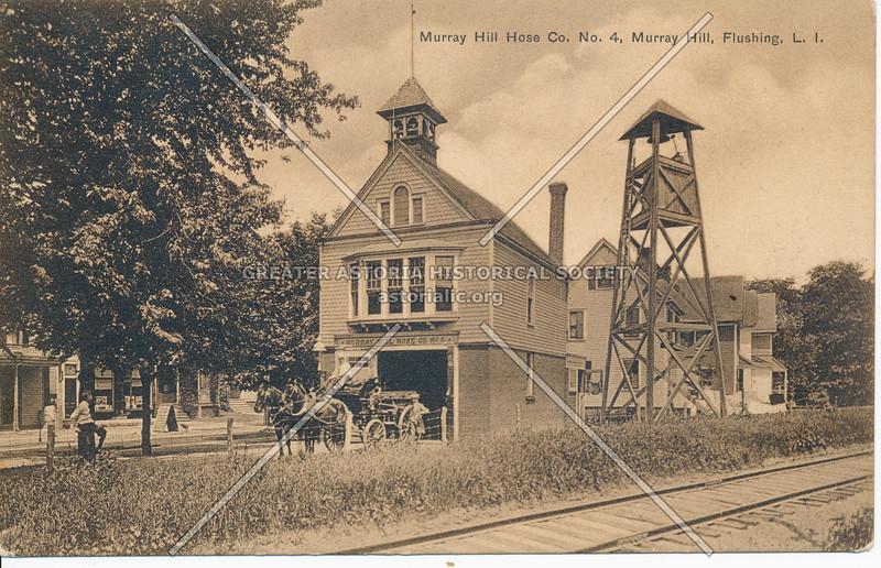 Murray Hill Hose Co. No. 4, Murray Hill, Flushing, L.I.