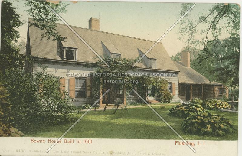 Old Bowne House, Flushing, L.I.