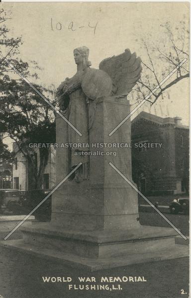 World War I Memorial, Northern Blvd., Flushing, N.Y.