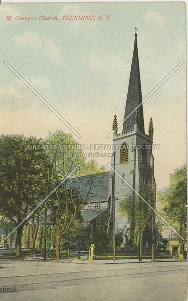 St. George's Church, Main St., Flushing, L.I.