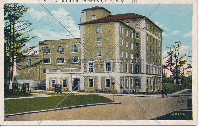 Y.M.C.A. Building, Northern Blvd.,  Flushing, L.I., N.Y.