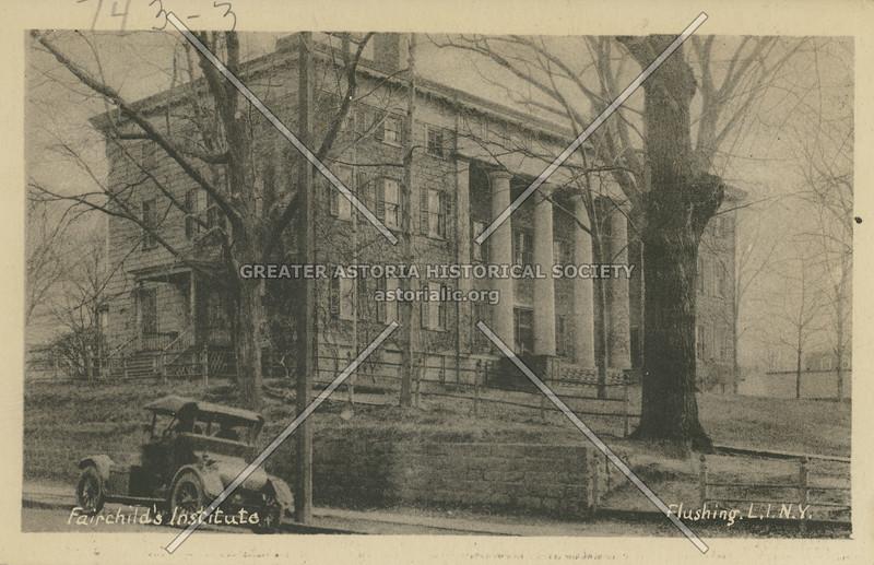 Fairchild's Institute, Flushing, L.I.