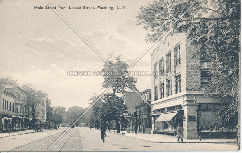 Main Street from Locust Street (39 Ave) Flushing, L.I.