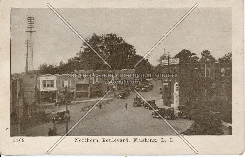 Northern Boulevard at 162 St, Flushing, L.I.
