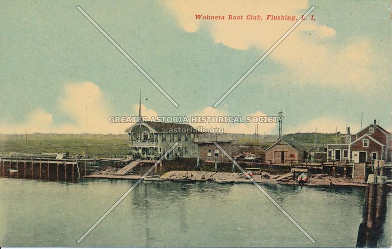 Wahneta Boat Club, Flushing, L.I.