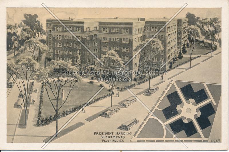 President Harding Apartments, Kissena Blvd and Sanford Ave., Flushing, N.Y.