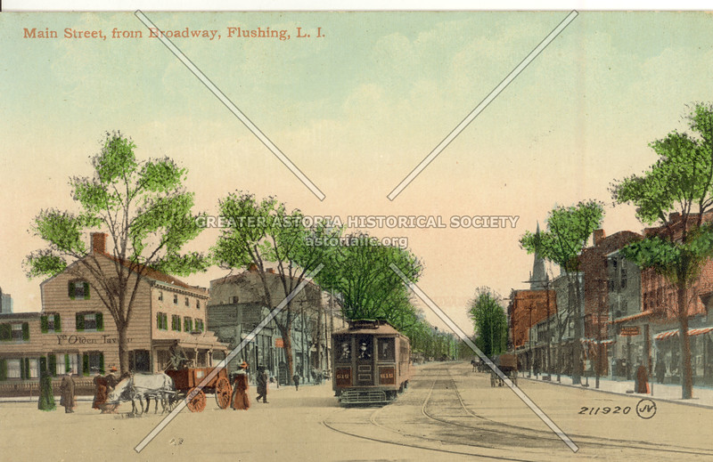 Main Street, from Broadway, Flushing, L.I.