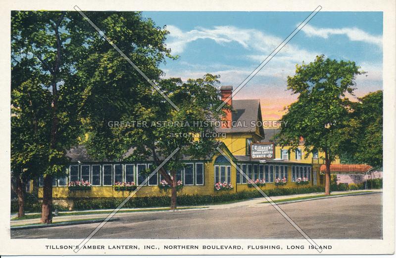 Tillson's Amber Lantern Inc., Northern Boulevard, Flushing, Long Island
