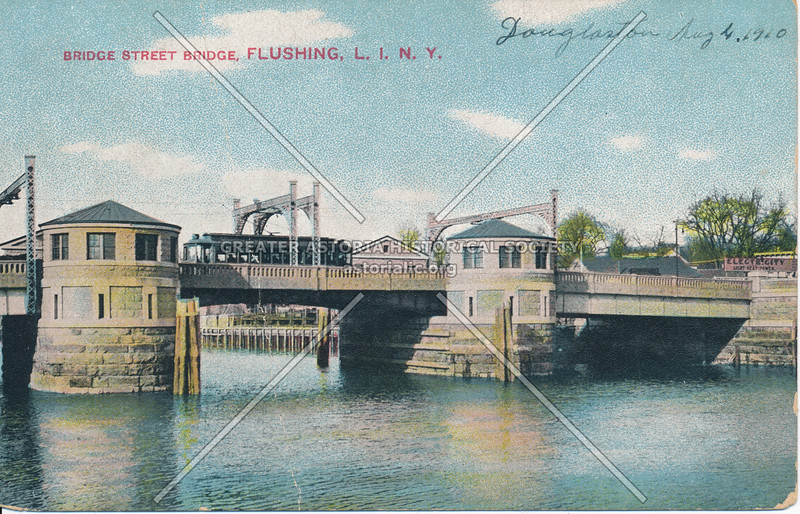 Bridge Street Bridge, Flushing, L.I., N.Y.