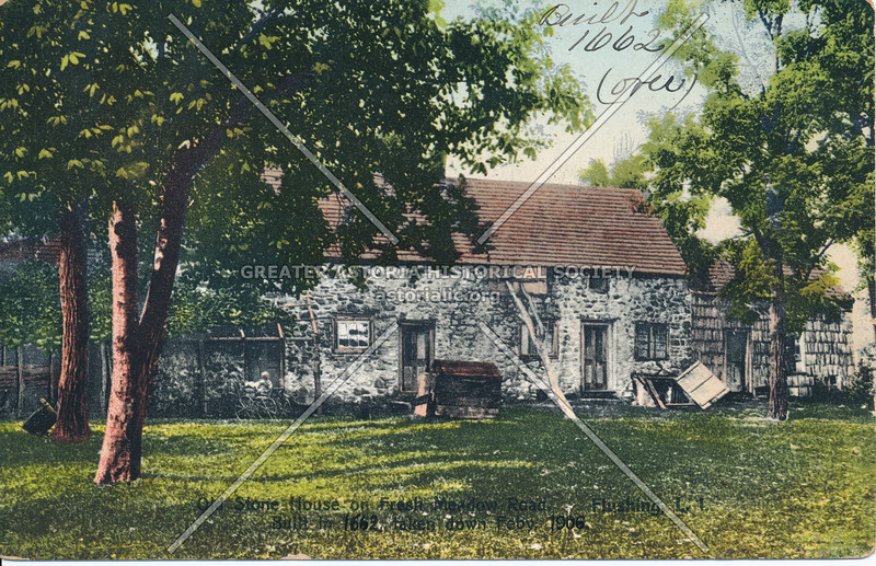 Stone House on Fresh Meadow Road, Flushing, L.I.