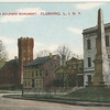 Armory and Soldier's Monument, Northern Blvd and Linden Place, Flushing, L.I., N.Y.