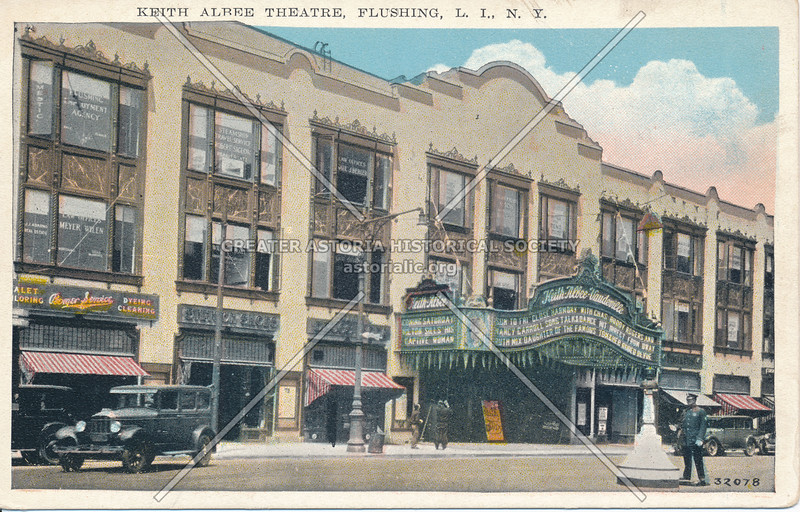 Keith Albee Theatre, Flushing, Northern Blvd. at Main St., L.I., N.Y.