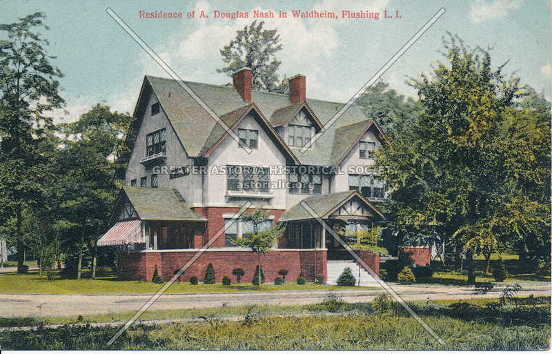 Residence of A. Douglas Nash in Waldheim, Flushing, L.I.