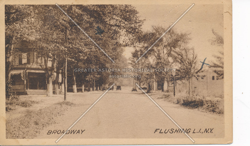 Broadway (Northern Blvd) , Flushing, L.I., N.Y.
