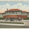 New Long Island R.R. Station, Main Street, Flushing L.I., N.Y.