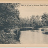 View on Kissena Lake, Flushing, L.I.