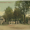 Entrance to Flushing Cemetery, Flushing, L.I.