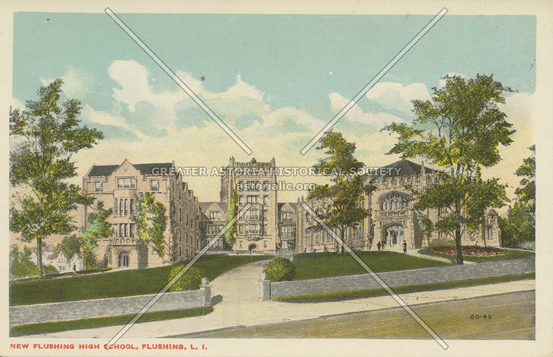 New Flushing High School, Flushing, L.I.