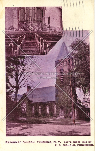 Reformed Church, Roosevelt Ave and Bowne St., Flushing, N.Y.