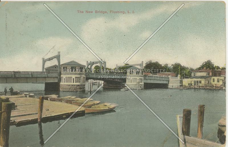 The New Bridge, Flushing, L.I