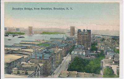 Brooklyn Bridge, from Brooklyn, BK.