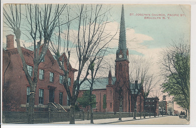 St. Joseph's Church, Pacific St., BK.