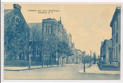 Lafayette Ave., from Washington St., BK.