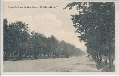 Ocean Parkway looking South, BK.