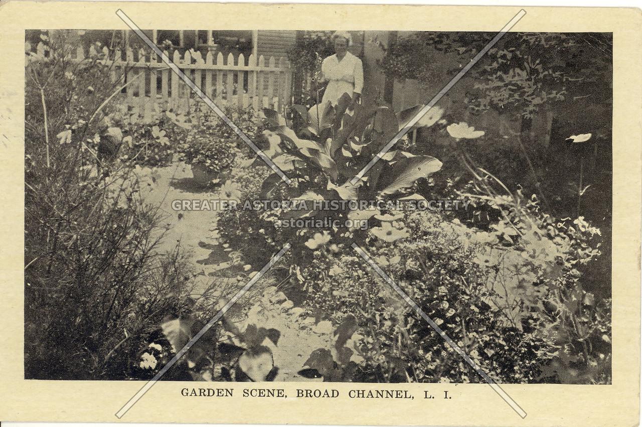 Garden Scene, Broad Channel, L.I.