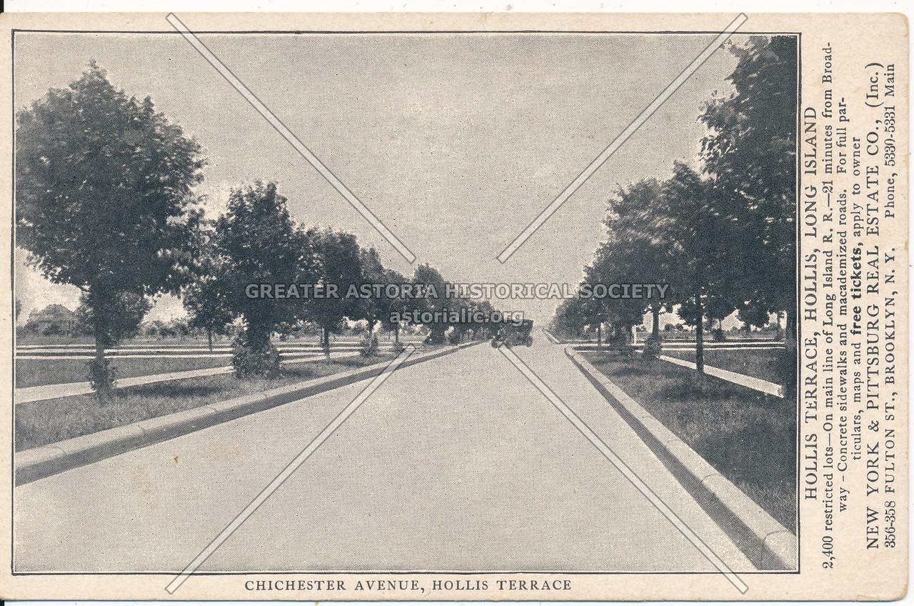 Chichester Avenue (95 Ave), Hollis Terrace
