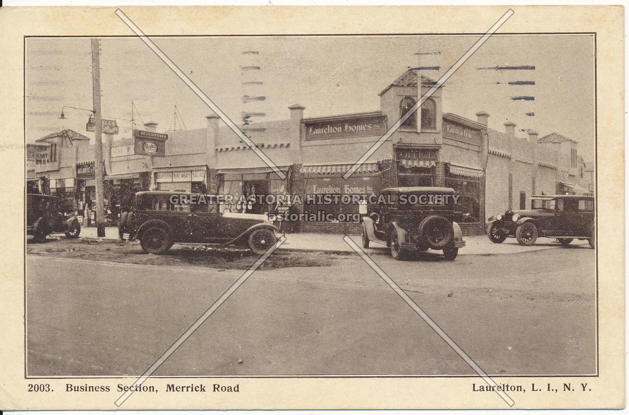 Business Section, Merrick Road (Merrick Blvd) Laurelton, L.I., N.Y.