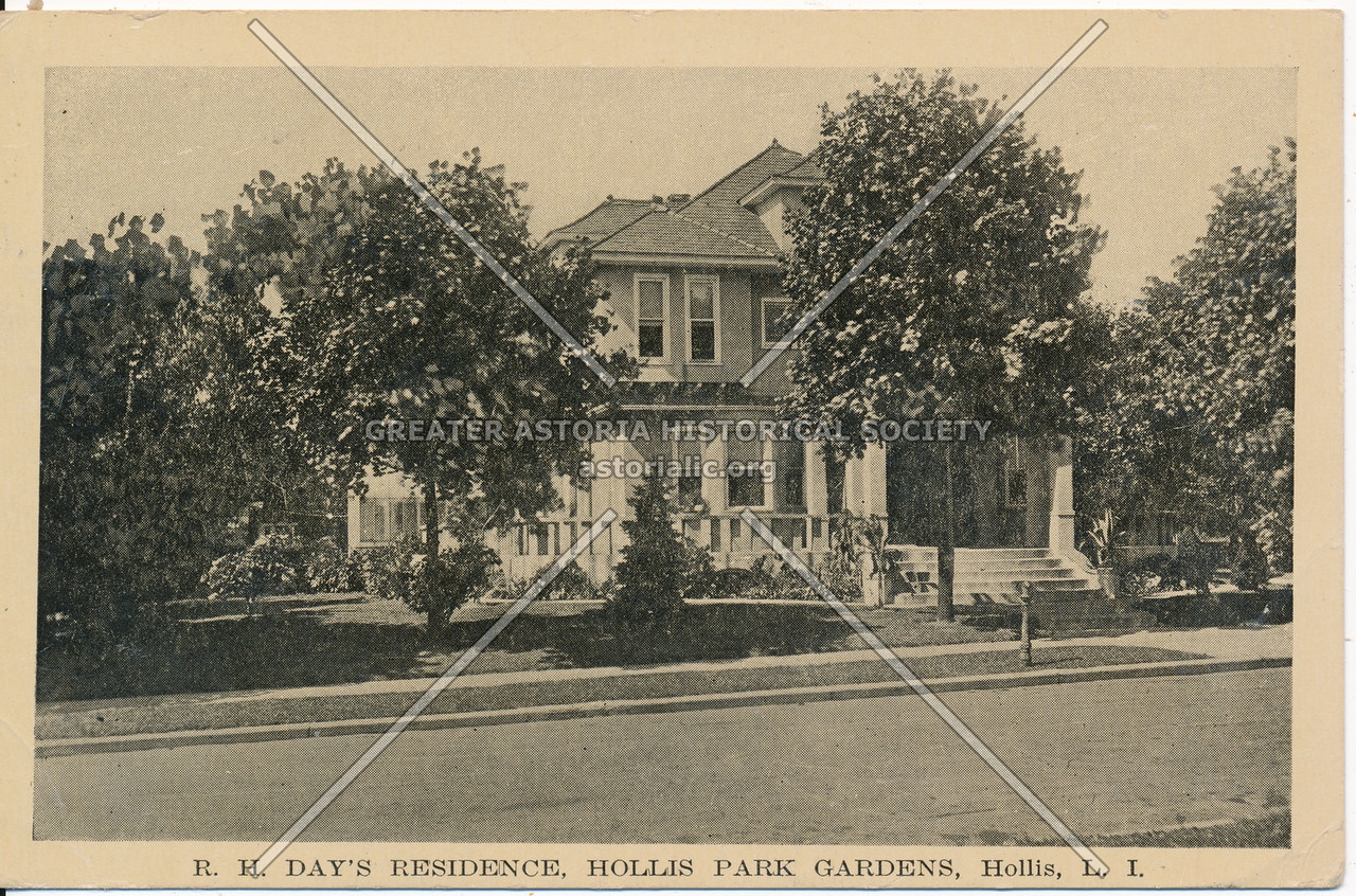 R.H. Day's Residence, Hollis Park Gardens, Hollis, L.I.